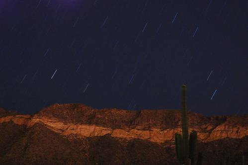 Usery Mountain With Starstreaks 5-20-2011 | by kpc4229