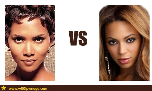 halle berry vs beyonce... Halle Berry