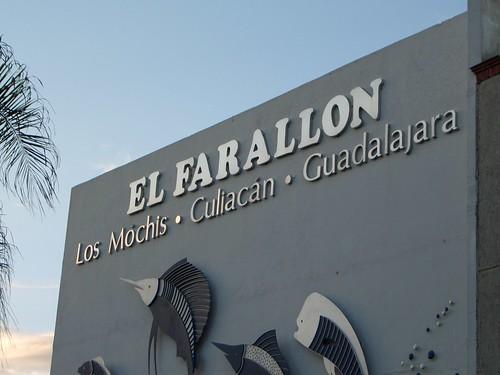 El Farallon Restaurant Menu