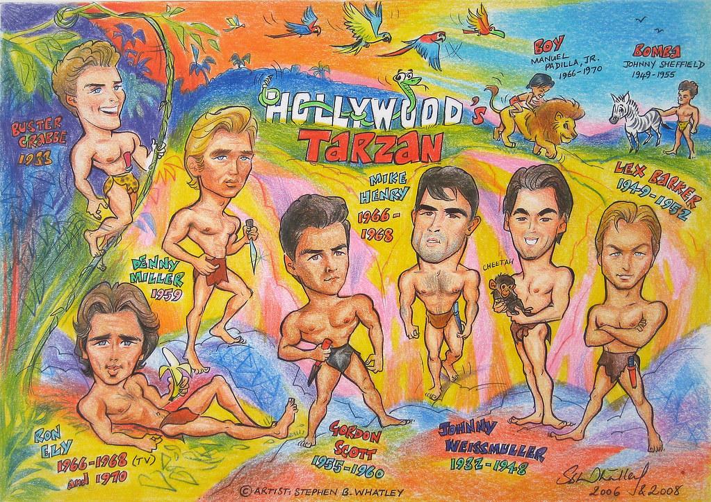 Hollywood Tarzan- Cartoon Tribute 2008 By Stephen B What -6481
