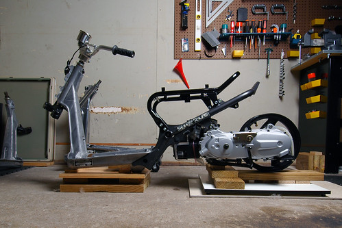 DSC_3611 Honda Ruckus | Grand Axis 100 motor in a Ruckus fra… | Flickr