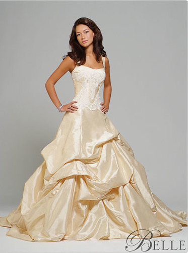 Belle wedding dress love love loooove these dresses for Beauty and the beast style wedding dress