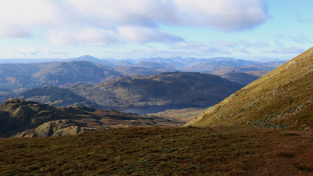 Towards Arrochar from Ben Ledi