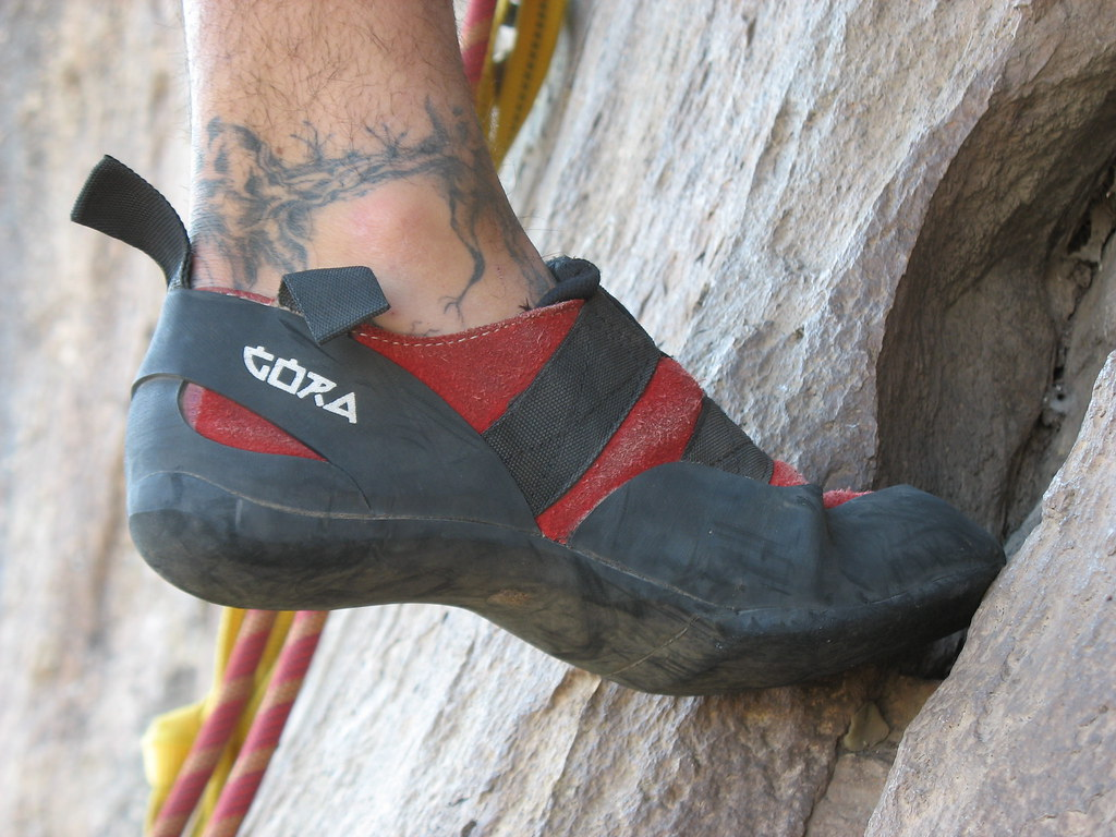 Climbing Shoes Are Smaller Sized