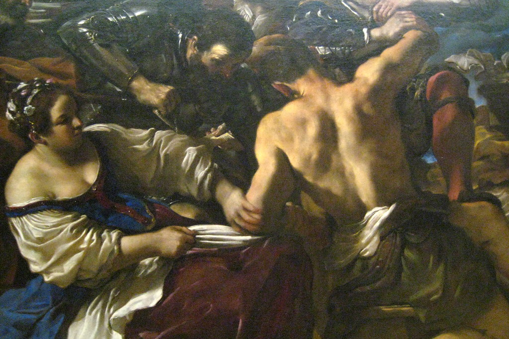 Samson Captured By The Philistines Painting by Celestial Images