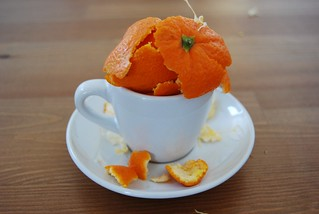 Orange Peel in Espresso Cup | by nickboos
