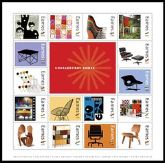 16 Eames Stamps for 2008 | by eamesd