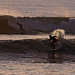 South coast surfing, Compton Bay, Isle of Wight