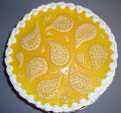 Meyer Lemon And Olive Oil Chiffon Cake