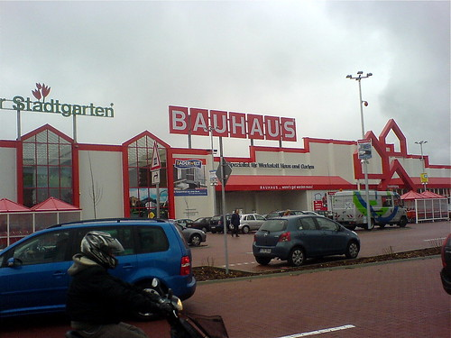 bauhaus bauhaus is like the home depot of germany you can flickr. Black Bedroom Furniture Sets. Home Design Ideas