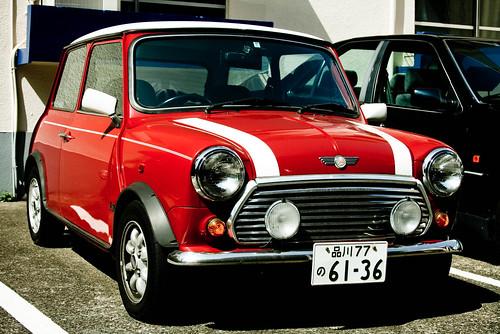 Mini Cooper Classic Red & White