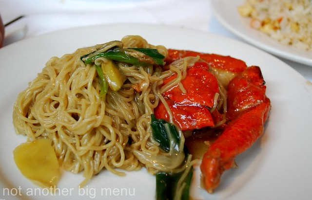 Mandarin Kitchen Lobster Noodles Recipe