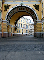 Arch of a general staff. Morning 01.01.2008. | by Oleg Mirabo