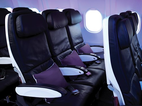 Virgin America Seats | by Binder.donedat