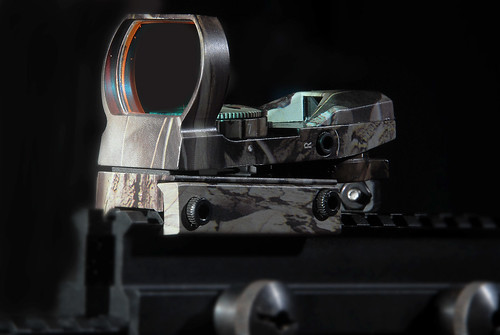NcSTAR D4C camouflage red dot sight | by chris.schneck