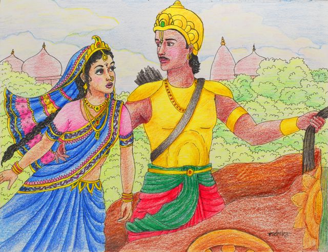 subhadra and draupadi relationship marketing