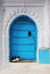 """Door"", Chefchaouen, Morocco 