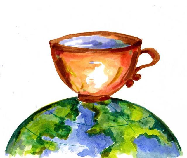 cup logo sm 280 dpi | The World Cafe | Flickr