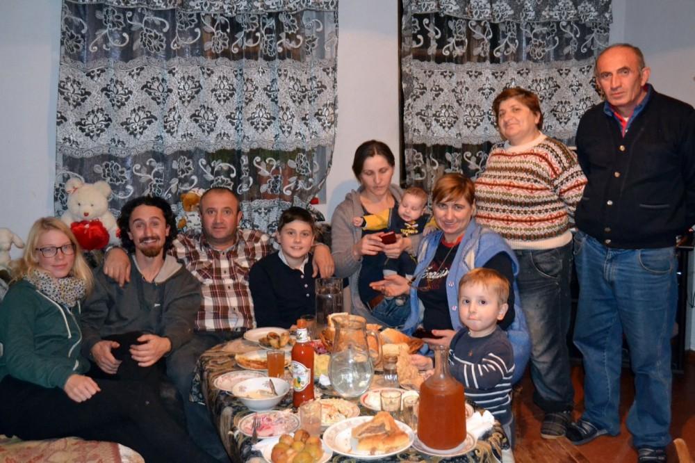 Matka Georgiaan | Georgialainen perhe