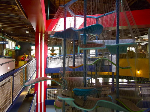 Lynn Meadows Discovery Center_Climbing Cage (2nd Level) | by catface3