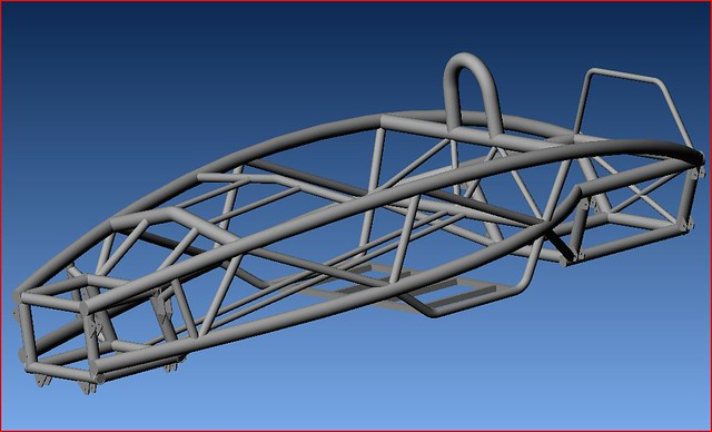 Atomframewithbrackets This Is The Cad Model Of The Ariel