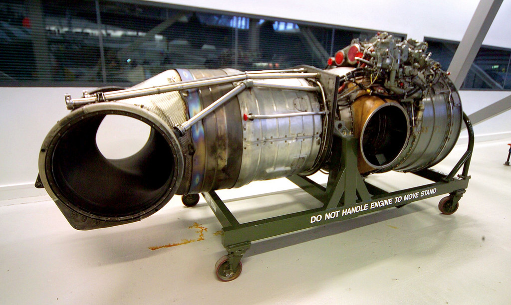 (Bristol) Rolls Royce Pegasus Vectored Thrust Turbofan