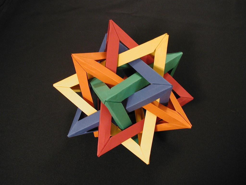 Modular Origami Soccer Ball