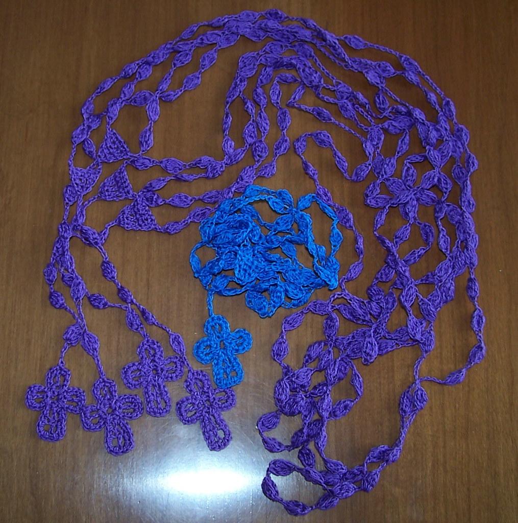 Crocheted Rosary Beads Annette Flickr