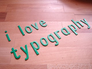 i love typography | by tamlyn.org