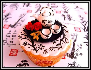 Tea,Chinese Style Cupcake | by ~Très Chic Cupcakes by ShamsD~