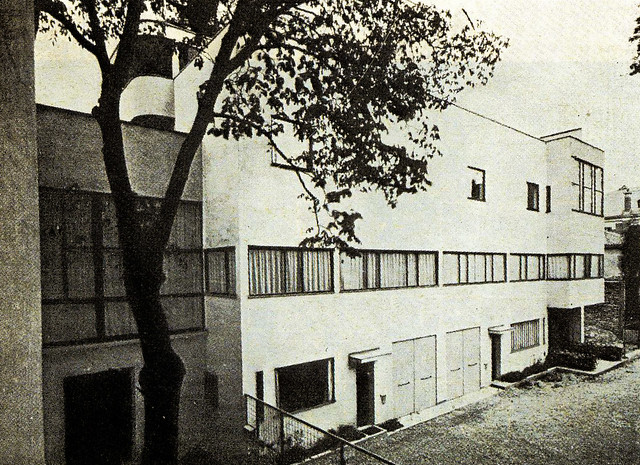 Le corbusier casa la roche jeanneret parigi auteil - Le corbusier casas ...