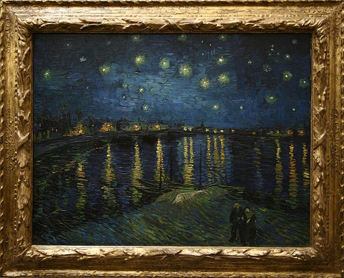 Parigi07 0411 vincent van gogh la notte stellata 1888 for La notte stellata
