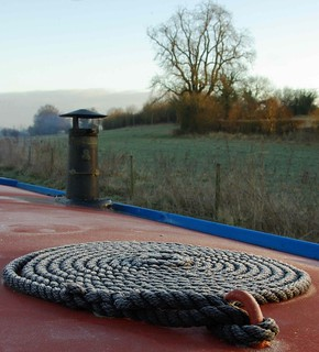 frosty rope coil and some countryside | by lovestruck.