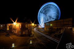 The Yorkshire Wheel @ Night | by Tom Holmes