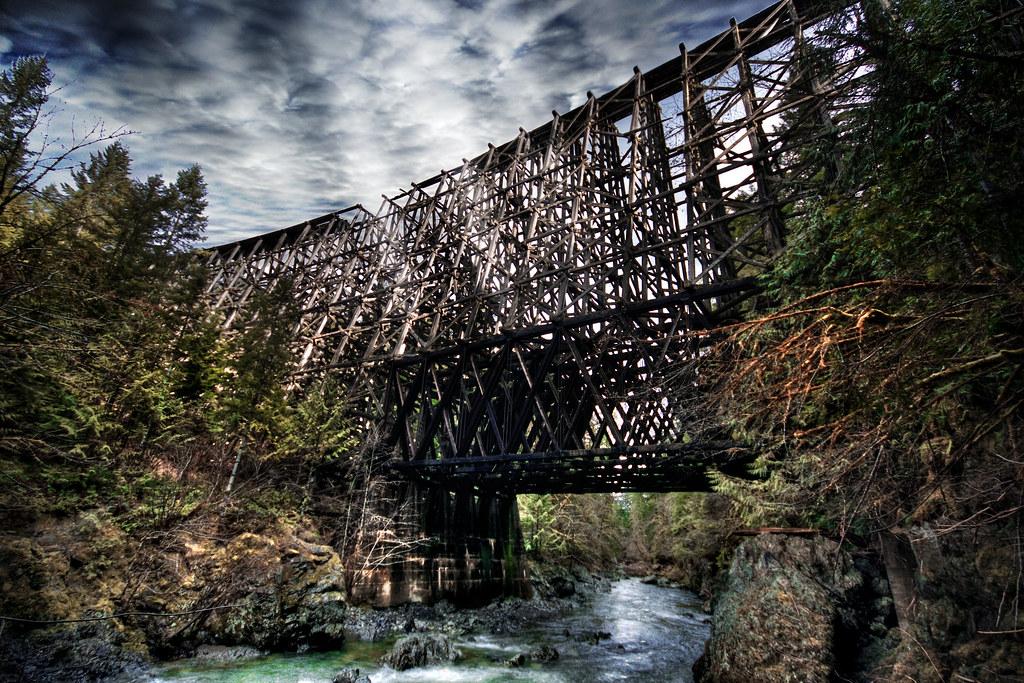 Trestle Bridge Vancouver Island