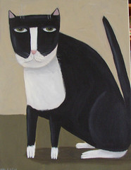 Tuxedo Cat | by Spiral Forest Studio