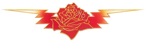 Grateful Dead rose n bolt design by Stanley Mouse | Zoooma ...