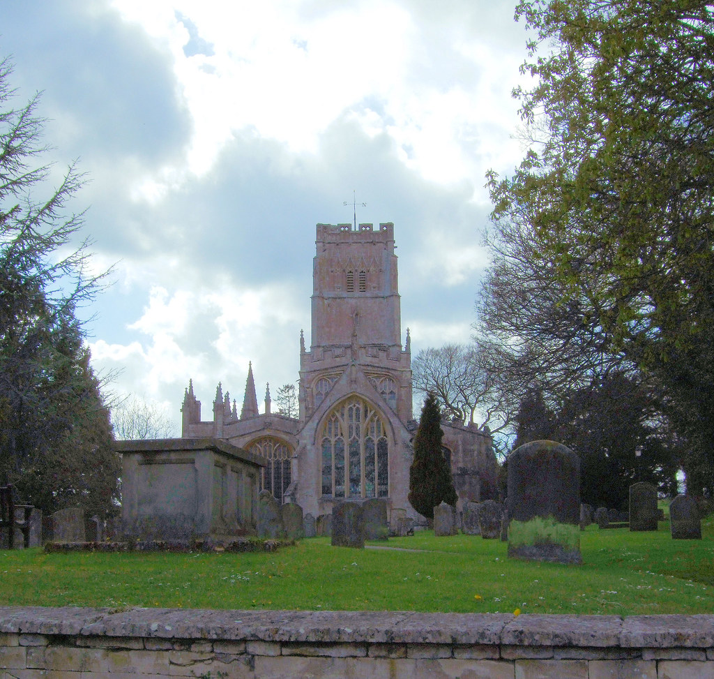 Northleach Parish Church Of St Peter And St Paul Gloucest