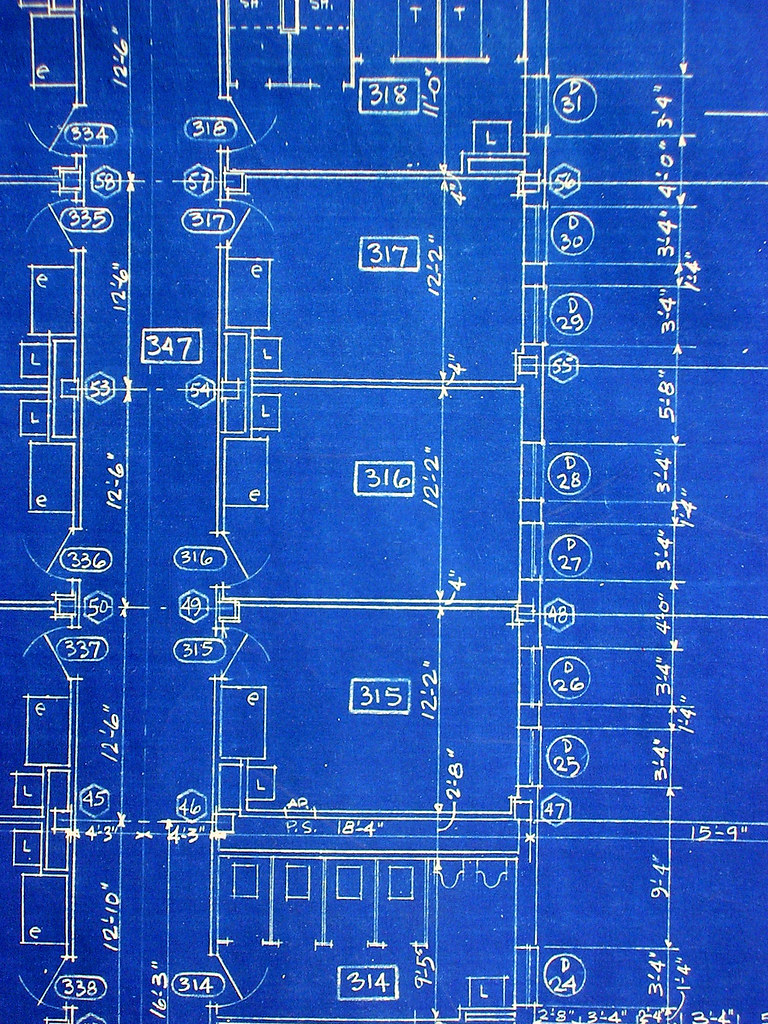 Where i teach detail from an original blueprint this for Blueprint of my house online