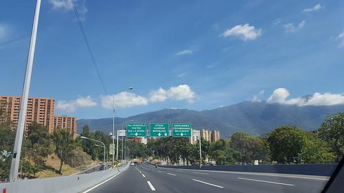 Caracas, en la vía