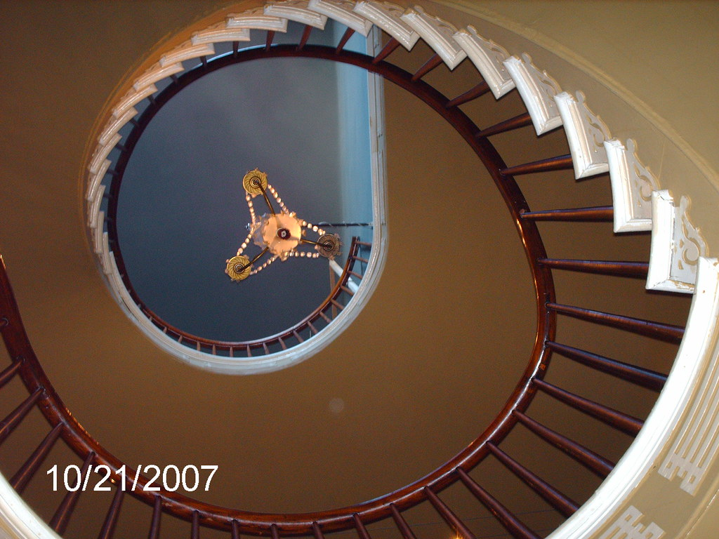 ... Houmas House Plantation, 3 Story Spiral Staircase | By Dana Causey