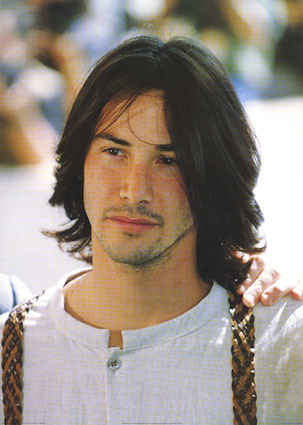 Keanu Reeves Colour Portrait Poster Firstposter Dotcom