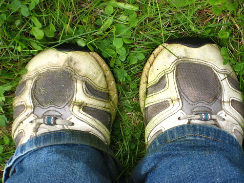 how to get rid of grass stains on white shoes