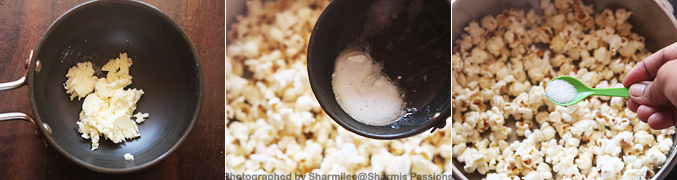 how to make popcorn on a pan