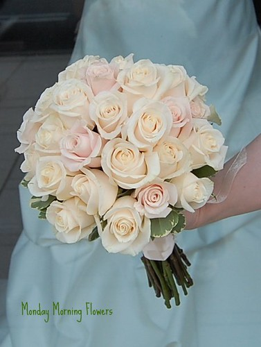 wedding bouquets with roses bridal bouquet for liz made by our designer 8543
