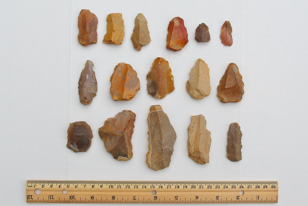 Paleolithic Tools Points Scrapers Blades And Bifaces