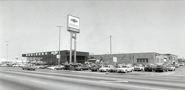 ... Hudiburg Chevrolet, SE 29th St U0026 Midwest Blvd   1980s | By Rose State  College