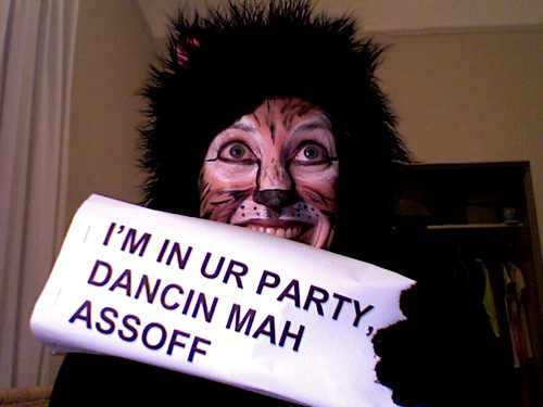 LOL Cat Costume and Makeup | by JJ^2