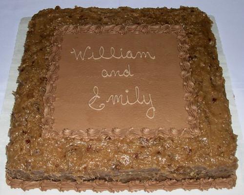 Grooms Cake German Chocolate