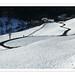 0044 Mittelalbis Strasse Schnee Landschaft